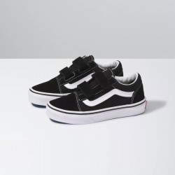 Vans Kids Old Skool V - Black/White