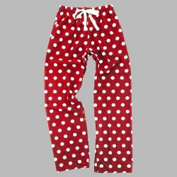 Boxercraft Flannel Pant - Red/White Dot