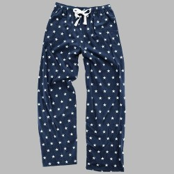 Boxercraft Flannel Pant - Navy/White Stars