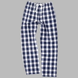 Boxercraft Flannel Pant - Navy/Natural Buffalo Plaid