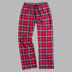 Boxercraft Flannel Pant - Navy/Red Plaid