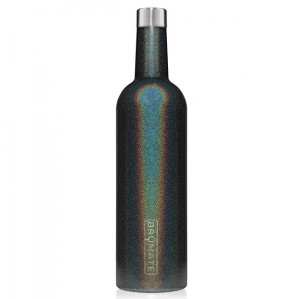 Brumate 25 oz Winesulator - Glitter Charcoal