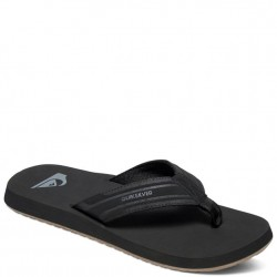 Quiksilver Monkey Wrench Flip Flop - Black