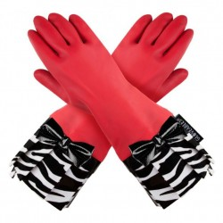 Gloveable Red with Zebra Print
