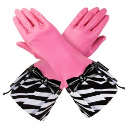 Gloveable Pink with Zebra Print