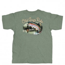 Old Guys Rule Short Sleeve T-Shirt - Bait and Tackle