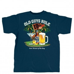 Old Guys Rule Short Sleeve T-Shirt - Best Round