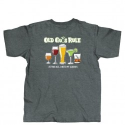 Old Guys Rule Short Sleeve T-Shirt - Need Glasses