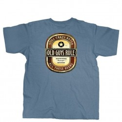 Old Guys Rule Short Sleeve T-Shirt - Crazy Brew