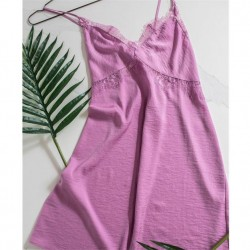 Solid Pink Chemise