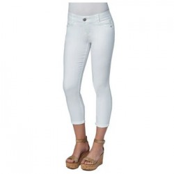 Democracy AB Solution Ankle Skimmer Jeans - Optic White