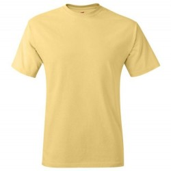 Hanes Men's TAGLESS® Short Sleeve T-Shirt - Daffodil