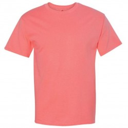 Hanes Men's TAGLESS® Short Sleeve T-Shirt - Charisma Coral