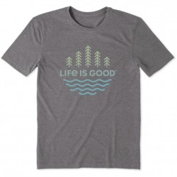 Life is Good T-Shirt - Trees and Water