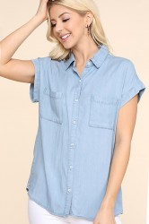 Be Cool Denim Shirt #17578