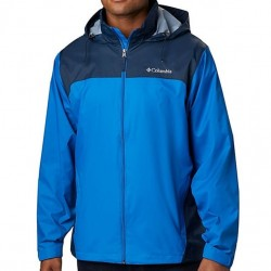Columbia Packable Rain Jacket - Blue/Navy