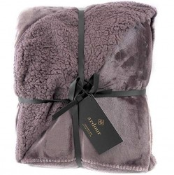 Ardour Berber Throw - Eggplant