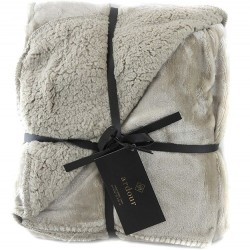 Ardour Berber Throw - Taupe