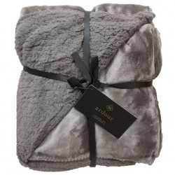 Ardour Berber Throw - Grey