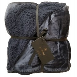 Ardour Berber Throw - Navy