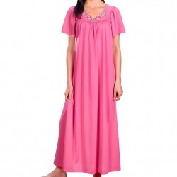 Long Nightgown - Rosy Pink
