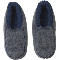 Sherpa Slippers - Blue