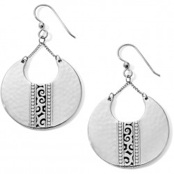 Brighton Mingle Disc Large French Wire Earring