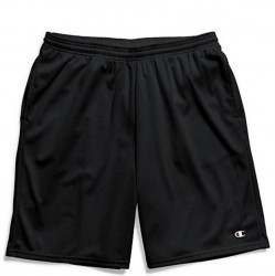 Champion Mesh Short with Side Pocket - Black