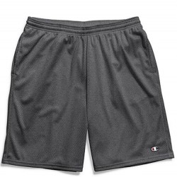 Champion Mesh Short with Side Pocket - Granite