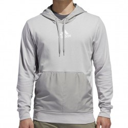 Adidas Hooded Pullover - Grey