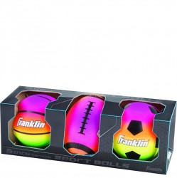 Franklin Set of 3 Neon Balls