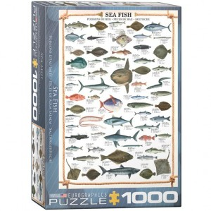 Eurographics Puzzle - 1000 pc Sea Fish