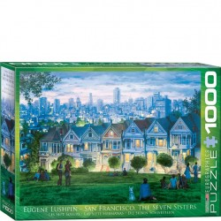 Eurographics Puzzle - 1000 pc SF The Seven Sisters