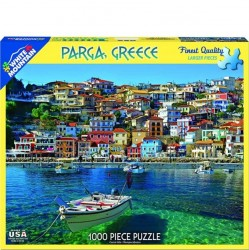 White Mountain 1000 pc Puzzle - Praga, Greece