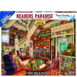 White Mountain 1000 pc Puzzle - Readers Paradise