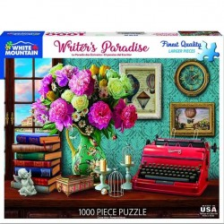 White Mountain 1000 pc Puzzle - Writer's Paradise