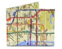Mighty Wallet - NYC Subway Map Style #414
