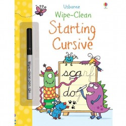 EDC Wipe Clean Book - Starting Cursive