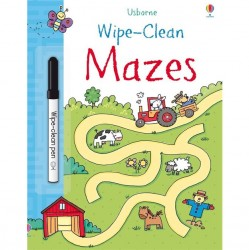 EDC Wipe Clean Book - Mazes