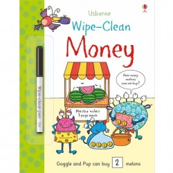 EDC Wipe Clean Book - Money