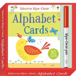 EDC Wipe Clean Cards - Alphabet