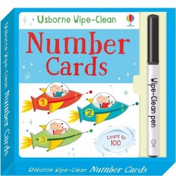 EDC Wipe Clean Cards - Number
