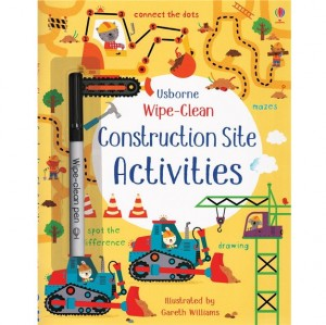 EDC Wipe Clean Activity Books - Construction