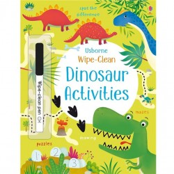 EDC Wipe Clean Activity Books - Dinosaur