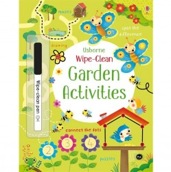 EDC Wipe Clean Activity Books - Garden