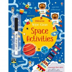 EDC Wipe Clean Activity Books - Space