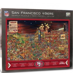 You The Fan SF 49er Puzzle - Find Joe Journeyman