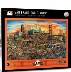 You The Fan SF Giants Puzzle - Find Joe Journeyman