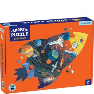 Mudpuppy 300 Pc Puzzle - Shaped Outer Space