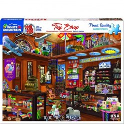 White Mountain 1000 pc Puzzle - Seek and Find Toy Shop